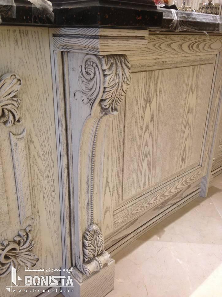 طراحی کابینت آشپزخانه توسط گروه معماری بنیستا
