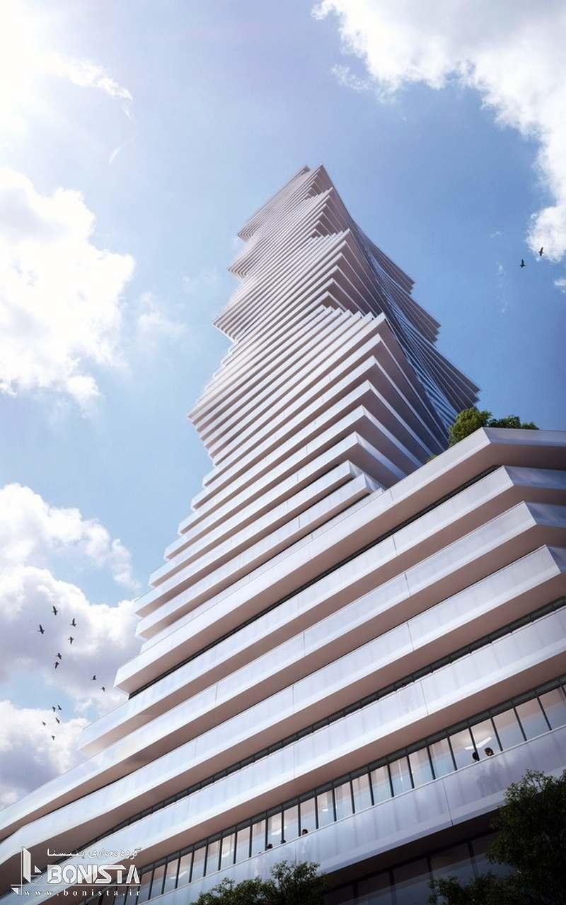 برج موج دار CORE بلندترین ساختمان در میسیساگا کانادا