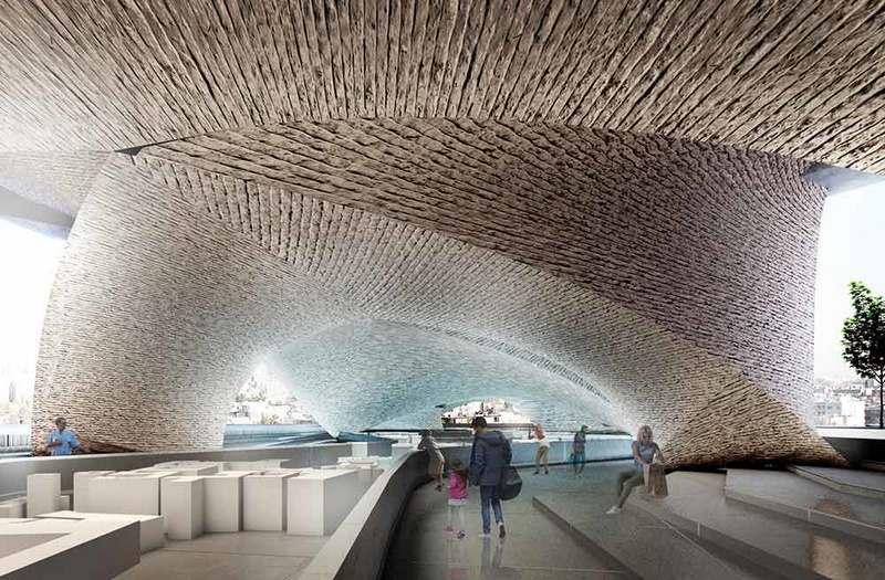 موزه مردم شناسی زیر پل میرداماد تهران