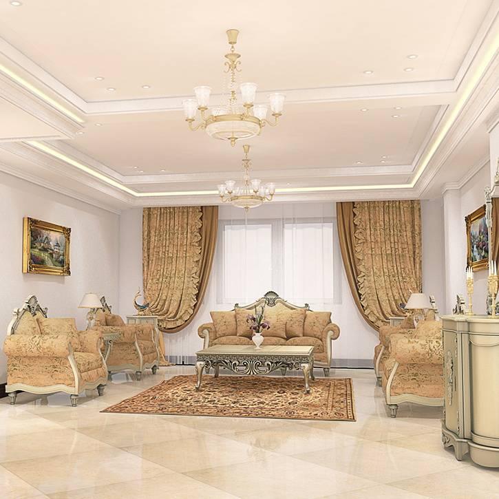 طراحی دکوراسیون داخلی ساختمان مسکونی زعفرانیه