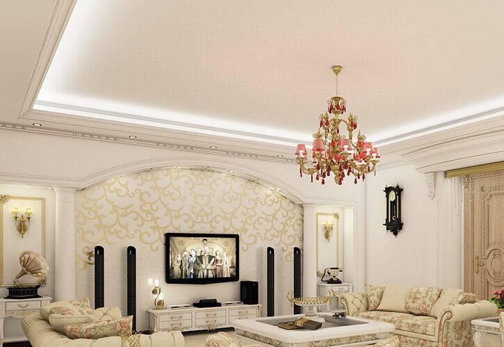 طراحی داخلی ساختمان لوکس امپریال پاسداران