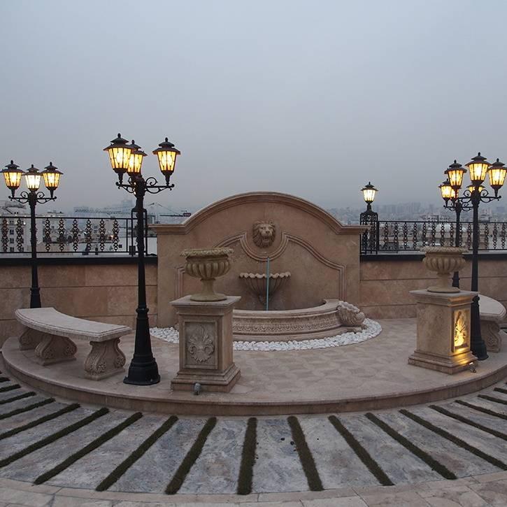 اجرای روف گاردن کلاسیک ساختمان امپریال پاسداران