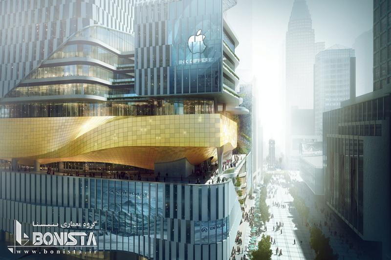 پروژه چند منظوره شهر کتاب در چونگ کینگ چین