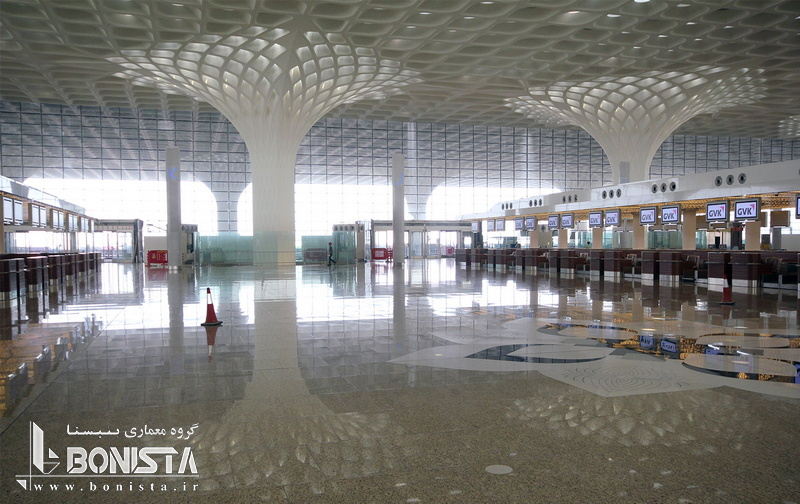 فرودگاه بین المللی chatrapati shivaji بمبئی هند