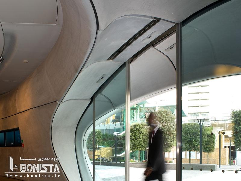 گالری ROCA در لندن - طراحی توسط زاها حدید- Zaha Hadid