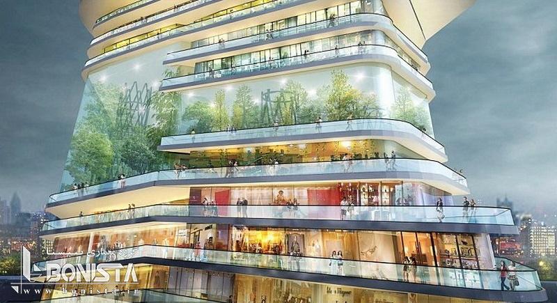 شهر بی انتها در لندن توسط گروه معماری SURE