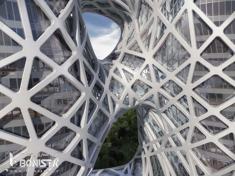 معماری هتل شهر رویاها توسط زاها حدید