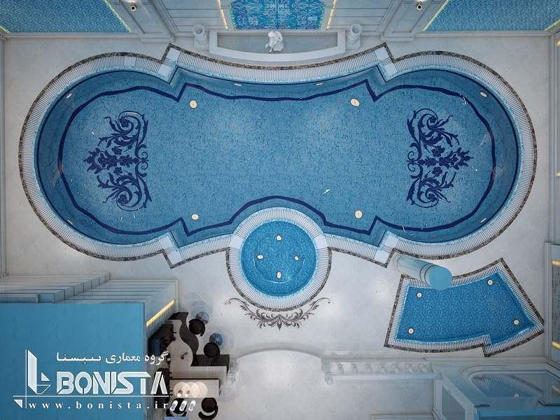 استخر ساختمان مسکونی امپریال پاسداران