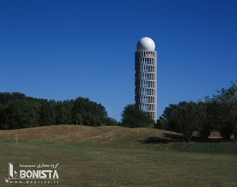 سازه بتنی پیش ساخته در برج رادار پاریس - گروه معماری Barthélémy Griñoسازه بتنی پیش ساخته در برج رادار پاریس - گروه معماری Barthélémy Griño