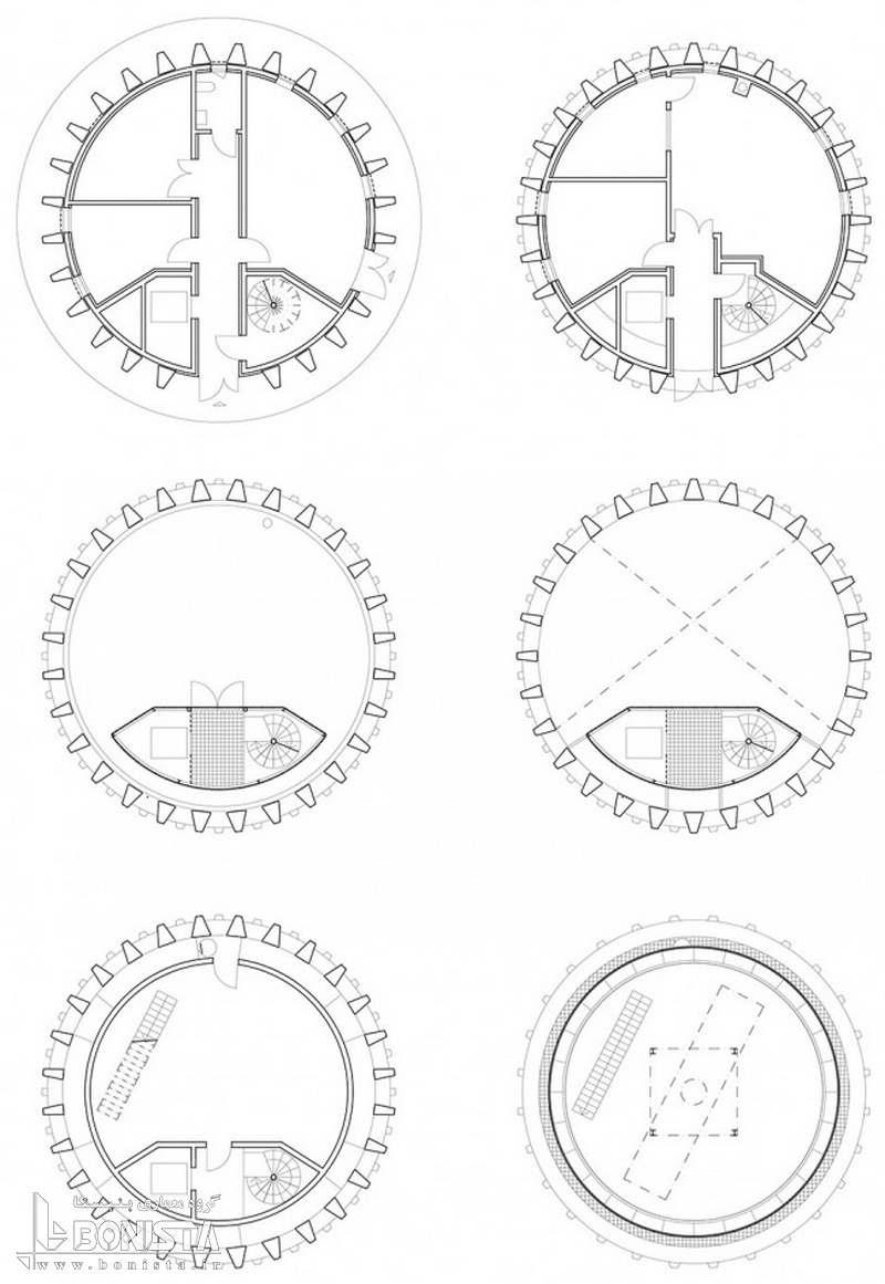 سازه بتنی پیش ساخته در برج رادار پاریس - گروه معماری Barthélémy Griño