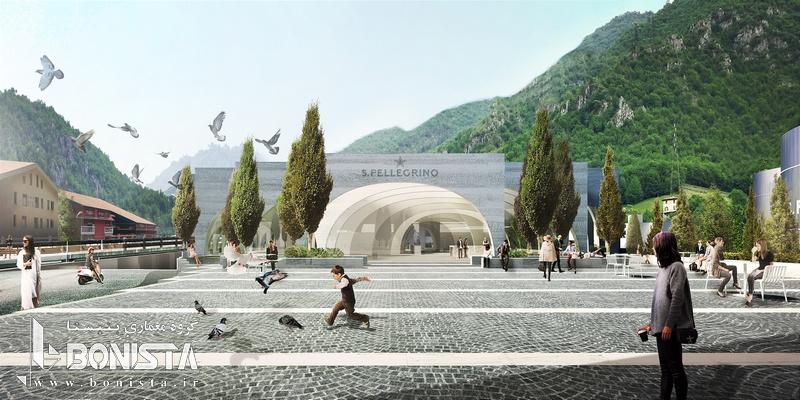 طراحی کارخانه San Pellegrino در شمال ایتالیا توسط گروه معماری BIG