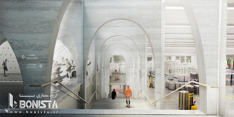 کارخانه San Pellegrino در شمال ایتالیا طراحی توسط گروه معماری BIG