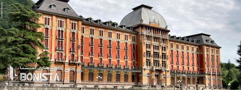 کارخانه تاریخی San Pellegrino در ایتالیا