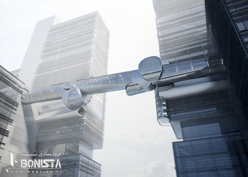 طراحی نمای خارجی پل هوایی شنزن