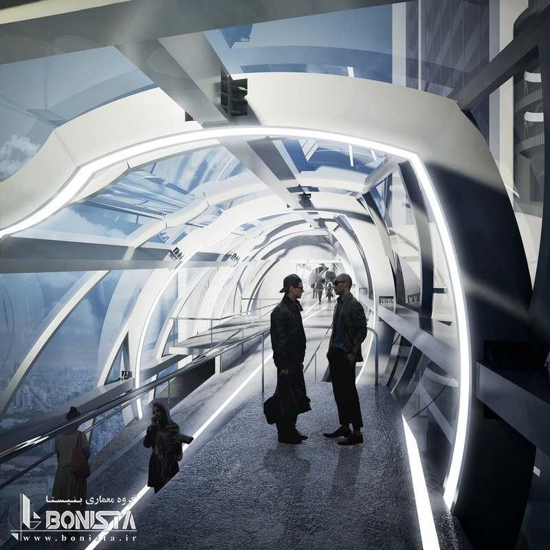 طراحی داخلی پل