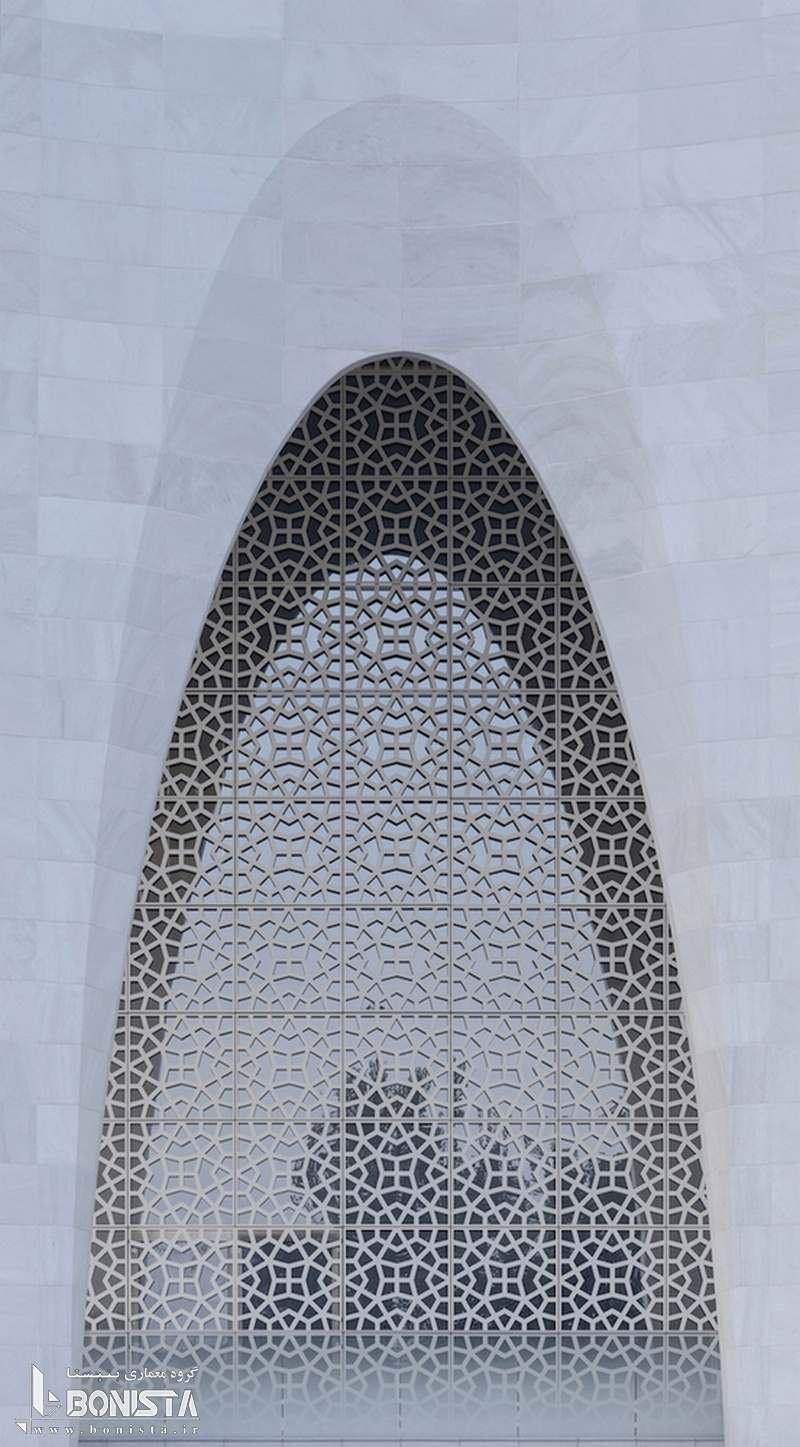 تبدیل نمادهای معماری سنتی اسلامی به اشکل هندسی مدرن