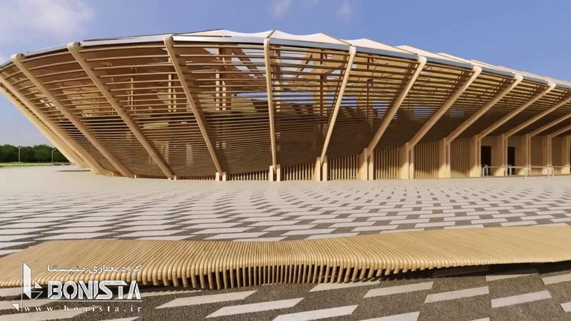 اولين استاديوم چوبی جهان در انگليس