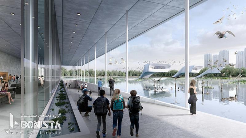 طراحی اولین فرودگاه پرندگان در چین