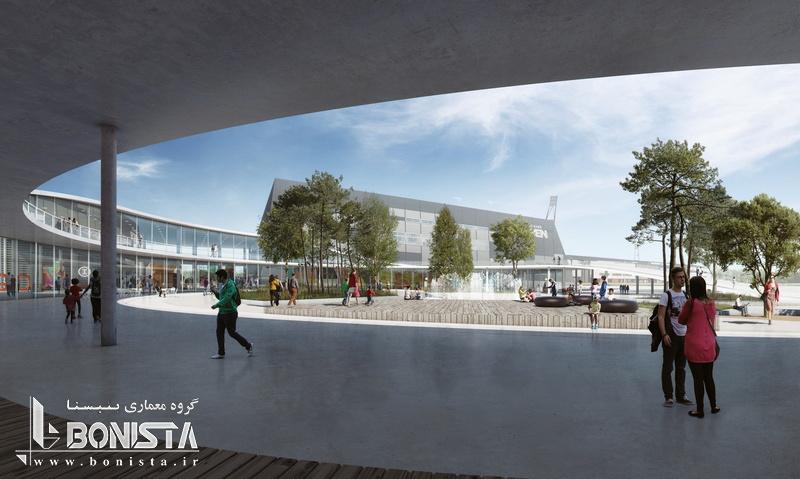 طراحی نمایشگاه MCH توسط معماران آرهوس و آژانس شهری - طراحی محوطه