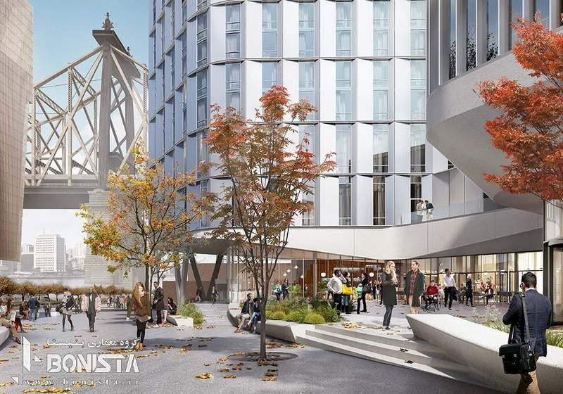 طراحی مرکز آموزش و هتل در جزیره Roosevelt توسط معماران Snøhetta