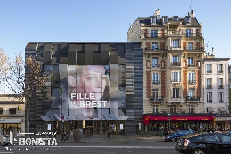 طراحی سینما Gaumont-Pathé Alésiaتوسط Manuelle Gautrand Architecture