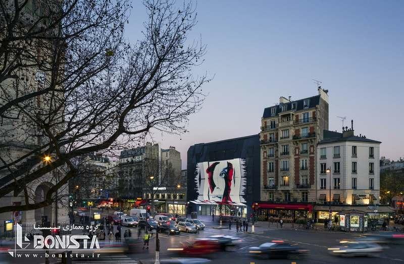 طراحی سینما Gaumont-Pathé Alésia در فرانسه