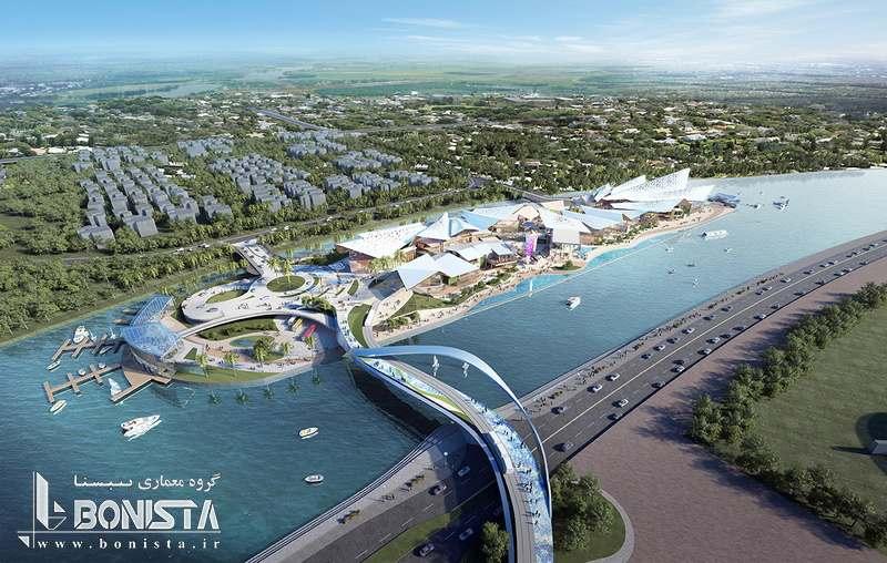 طراحی فاز دوم پروژه جزیره Hainan در چین توسط  تیم طراحی و مشاور Benoy