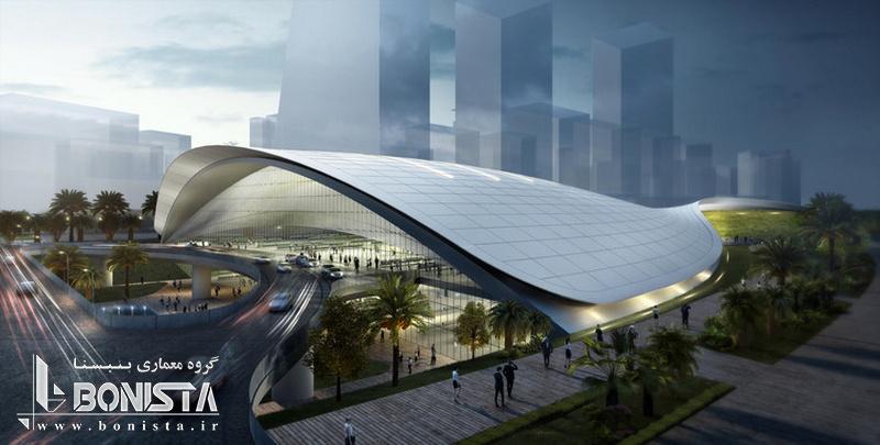 طراحی شرکت فارل برای پایانه ی خط آهن تندرو در سنگاپور