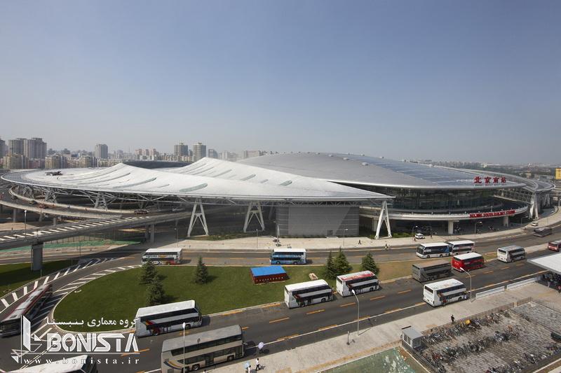 طراحی شرکت فارل برای پایانه راه آهن جنوبی پکن