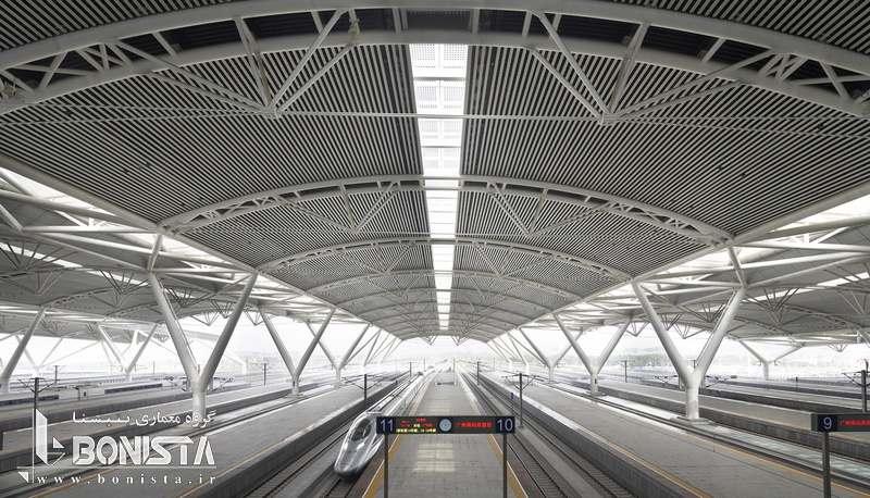 طراحی شرکت فارل برای پایانه راه آهن گوانگژو در چین - سال 2010