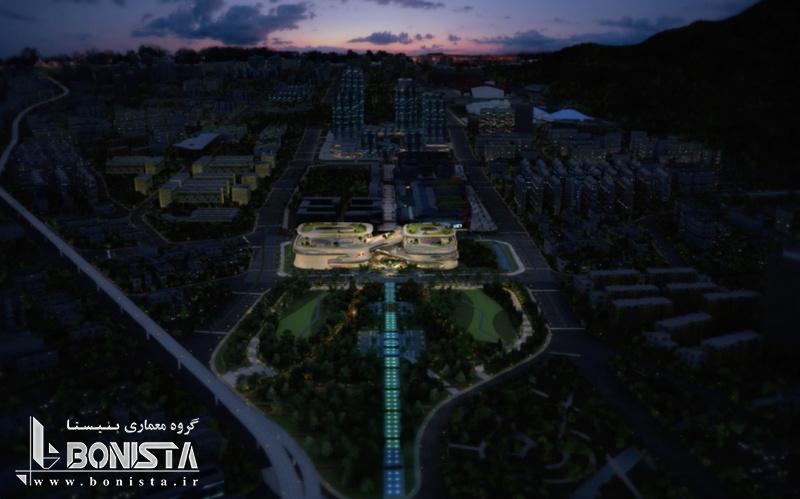 طراحی مجتمعInfinitus Plaza در چینتوسطمعماران زاها حدید