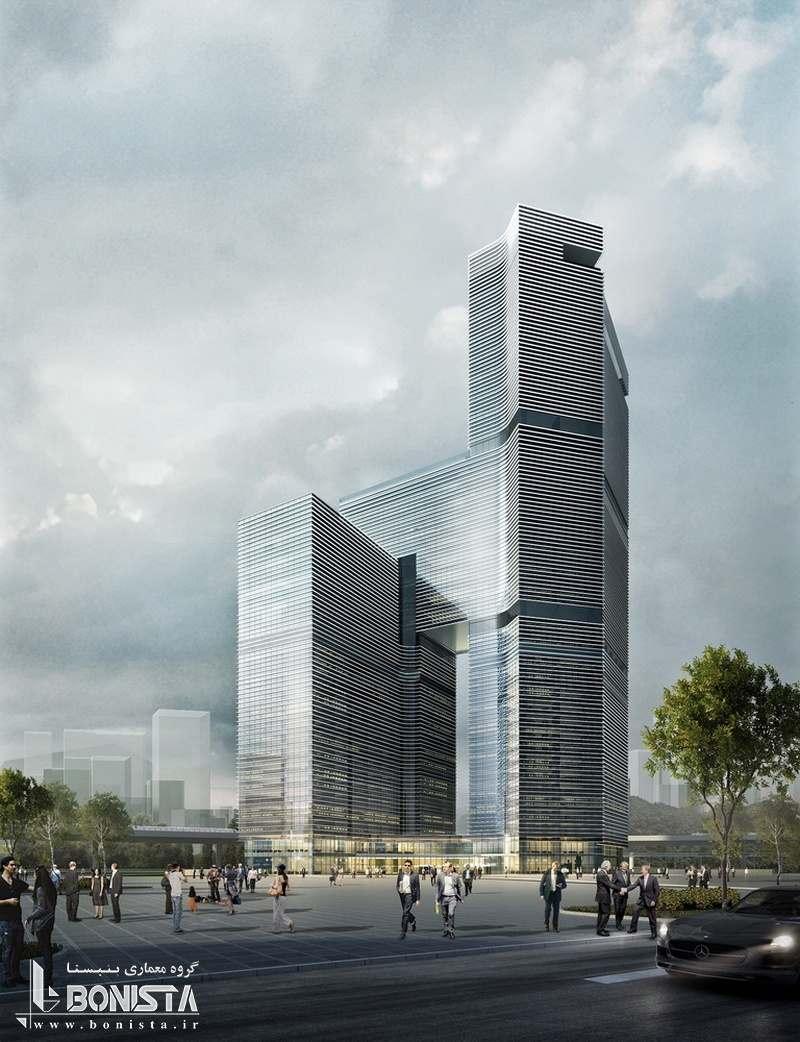 طراحی ساختمان تجاری در جاده ی تاریخی ابریشم توسط شرکت معماری آئداس