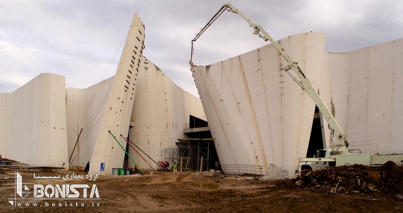 چگونگی اجرای طرح های پیچیده معماری در موزه ی دل باروکو مکزیک