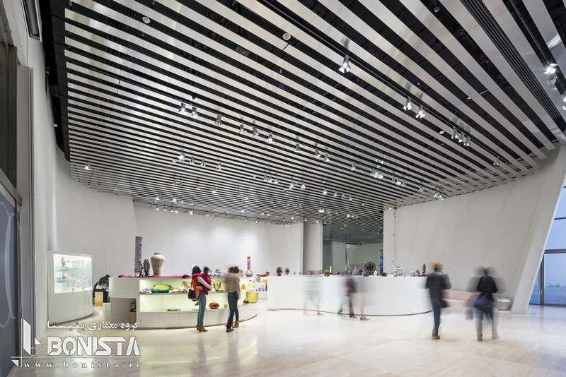 طراحی داخلی موزه دل باروکو مکزیک توسط Toyo Ito