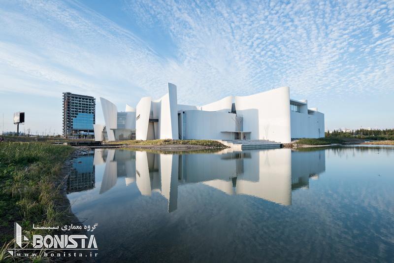چگونگی اجرای طرح های پیچیده معماری در موزه ی دل باروکو مکزیک -طراحی توسط Toyo Ito