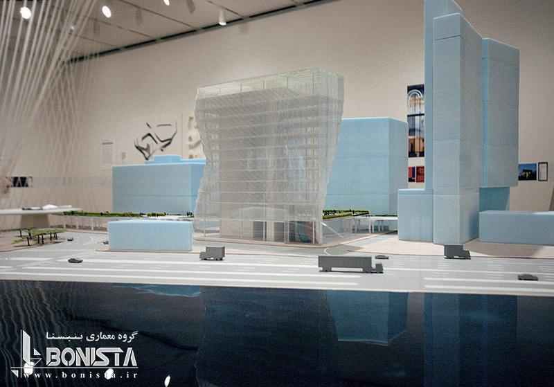 طراحی برج خورشیدی توسط استودیو معماری گانگ در نیویورک - ماکت برج