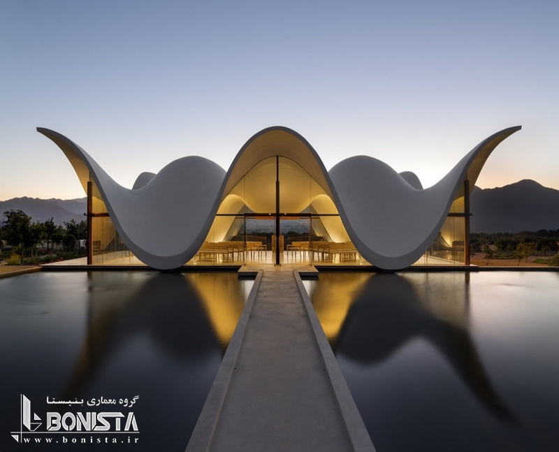 معماری متفاوت در کلیسای Bosjes توسط استودیو معماری Steyn