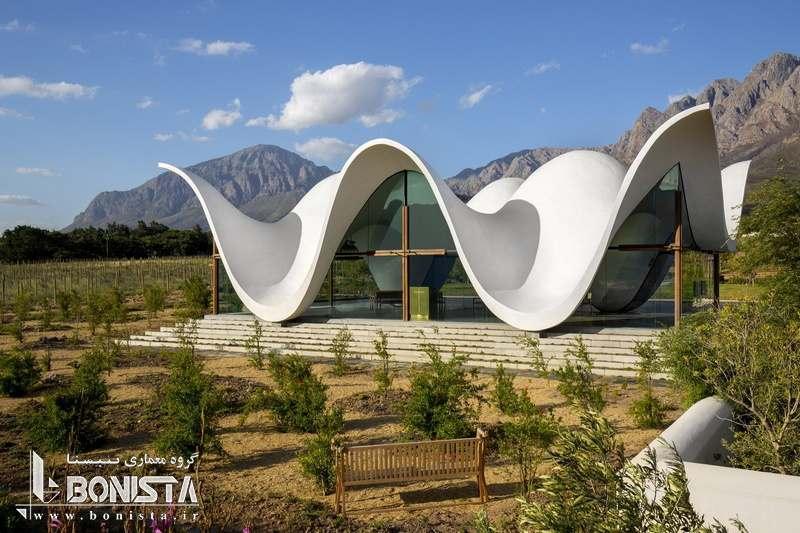 طراحی متفاوت کلیسای Bosjes  و الهام از محیط پیرامون در طراحی