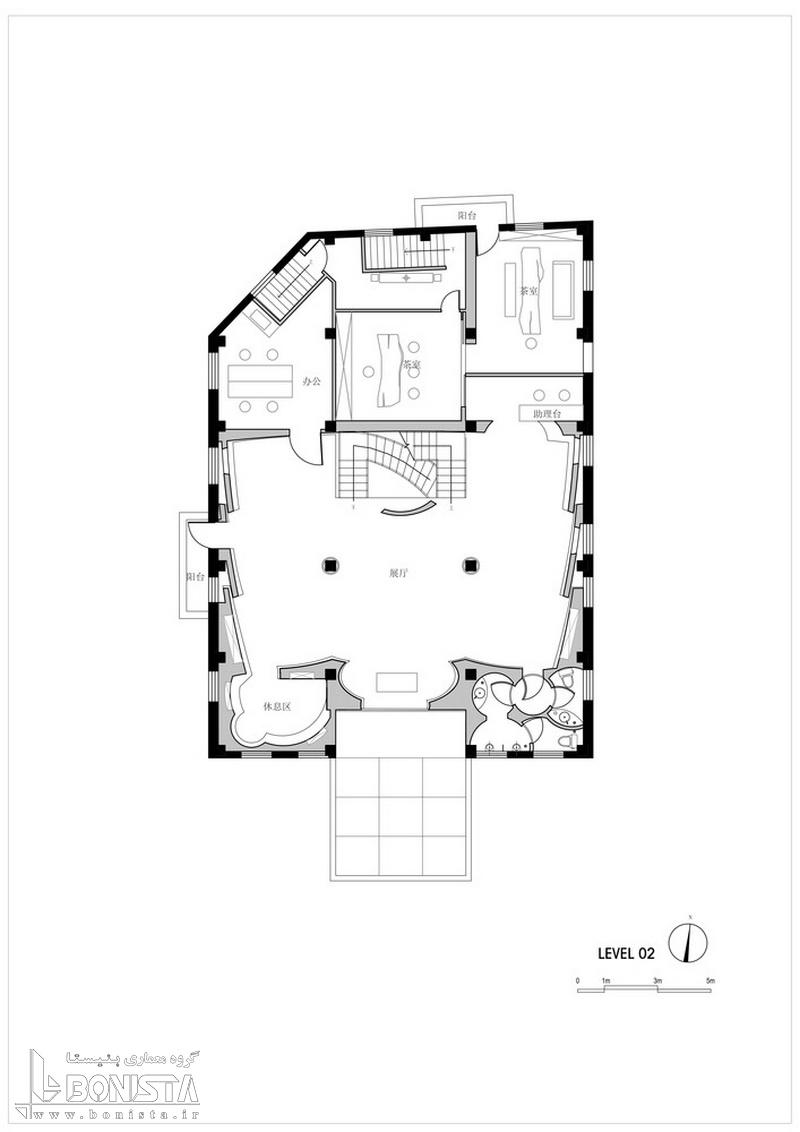 پلان موزه Jade در چین منطقه Huangpuu شانگهای