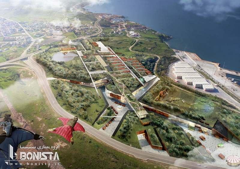 طراحی پارک Bandirma ترکیه توسط شرکت TARI-Architects