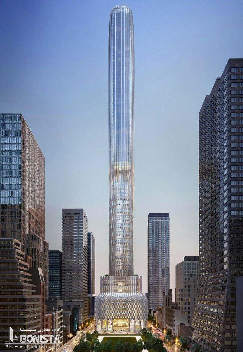 طراحی آسمان خراش Supertall در نیویورک توسط ZHD Architects