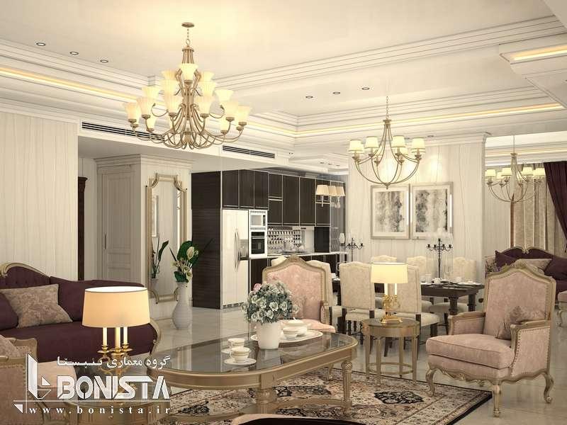 طراحی داخلی مسکونی