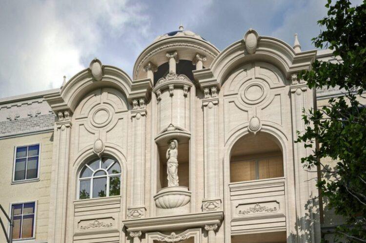طراحی نمای کلاسیک