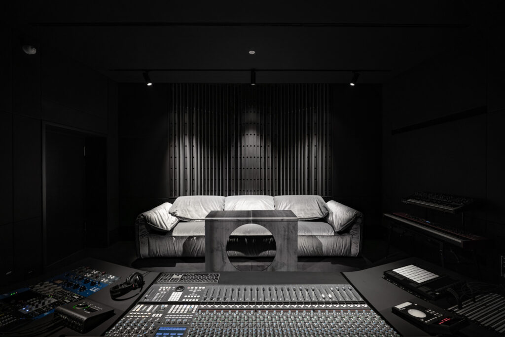 طراحی استودیوی ضبط موسیقی