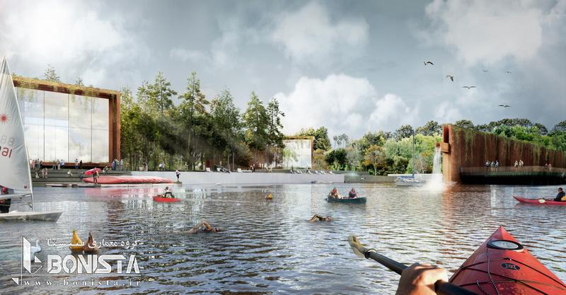 طراحی پارک Bandirma ترکیه و کسب مقام سوم مسابقه