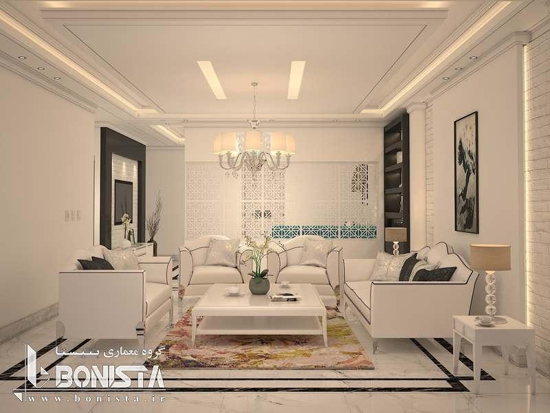 طراحی داخلی پروژه مسکونی