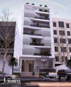 طراحی نما ساختمان اداری
