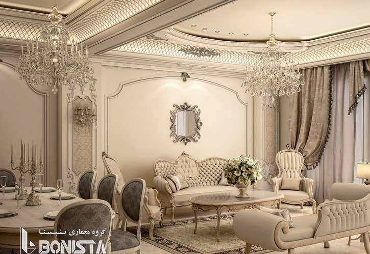طراحی داخلی منزل مسکونی